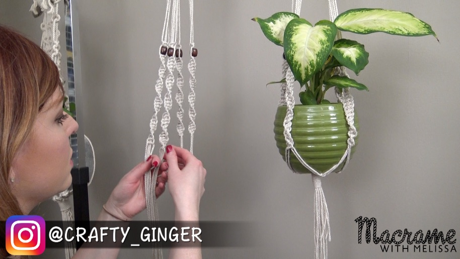 4 Part Series How To Make A Beginner Macrame Plant Hanger Tutorial With Melissa